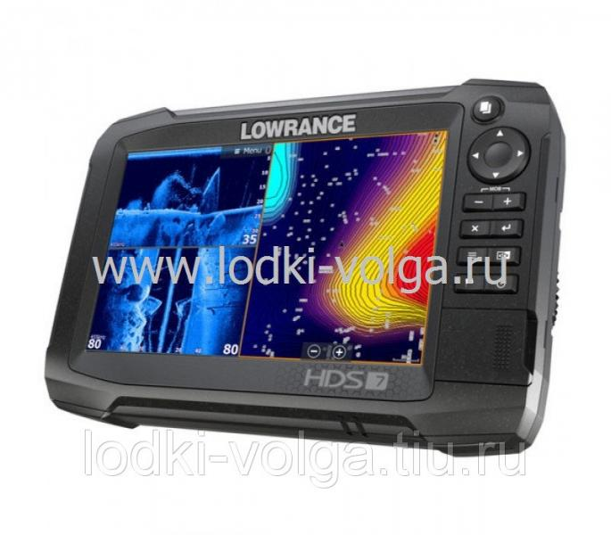 Эхолот LOWRANCE HDS-7 Carbon No Transducer (000-13678-001)
