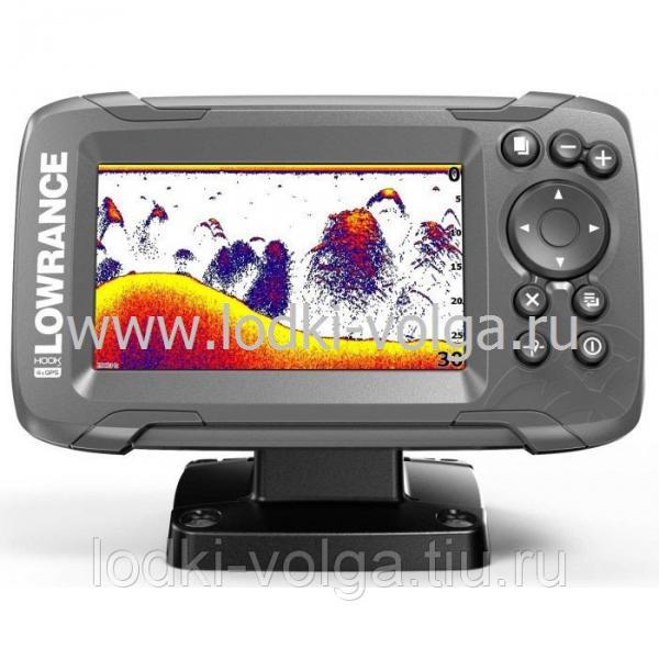 Эхолот LOWRANCE Hook2-4x GPS Bullet Skimmer CE ROW 83/200 (000-14015-001)