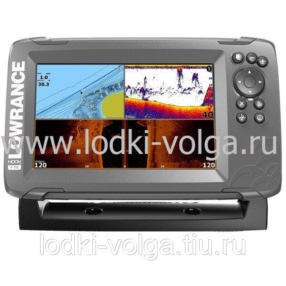 Эхолот LOWRANCE Hook2-7 TRIPLESHOT US COASTAL/ROW (000-14024-001)