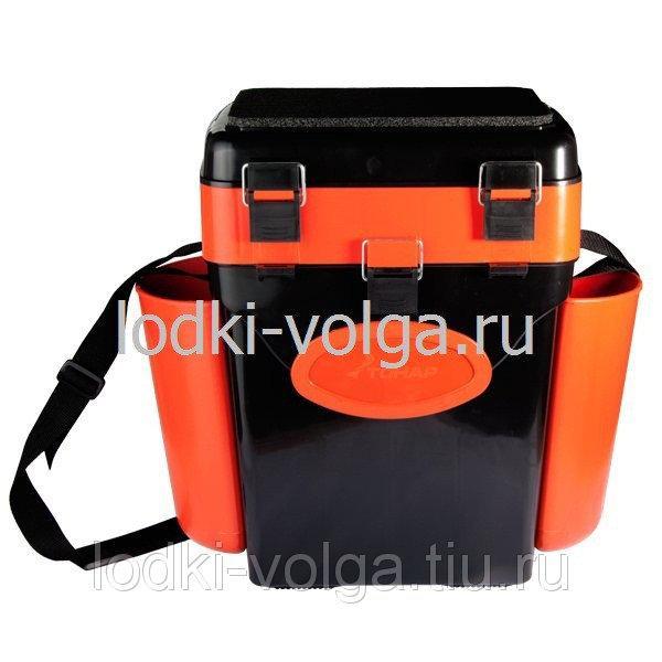 "Ящик зимний ""FishBox"" 10л, оранжевый"