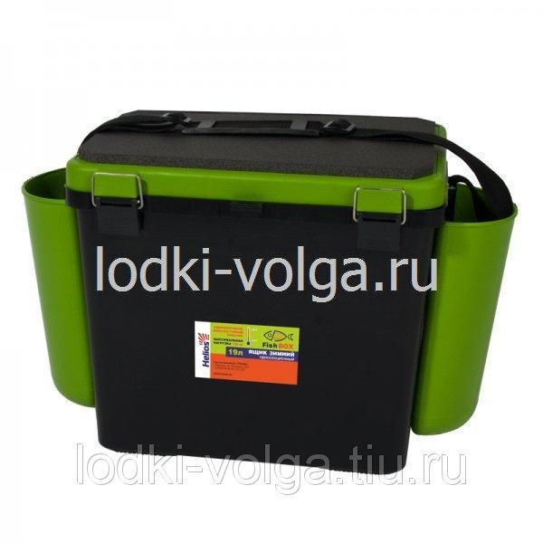 """Ящик зимний """"FishBox"""" 19л, односекционный, зеленый"""