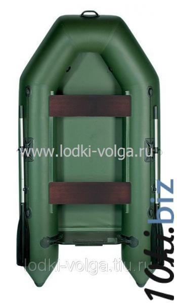 Лодка Аква 2600, зеленая Лодки надувные купить на рынке Дубровка
