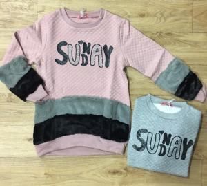 Фото Кофты, толстовки, рубашки, свитера Кофта утепленная девочке от 8 до 16 лет