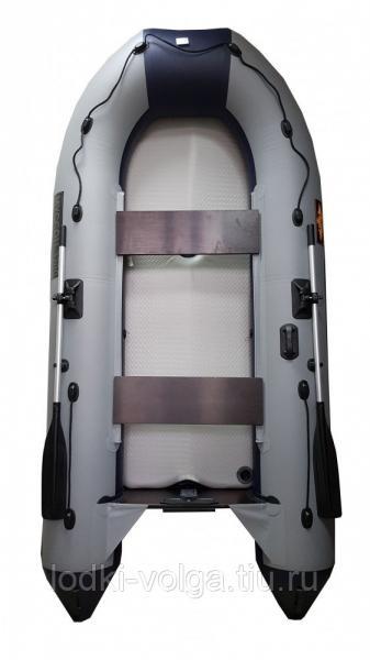 Лодка Муссон 3200 АК Аэрдэк Airdek Киль (ЛП) Серо/Синяя