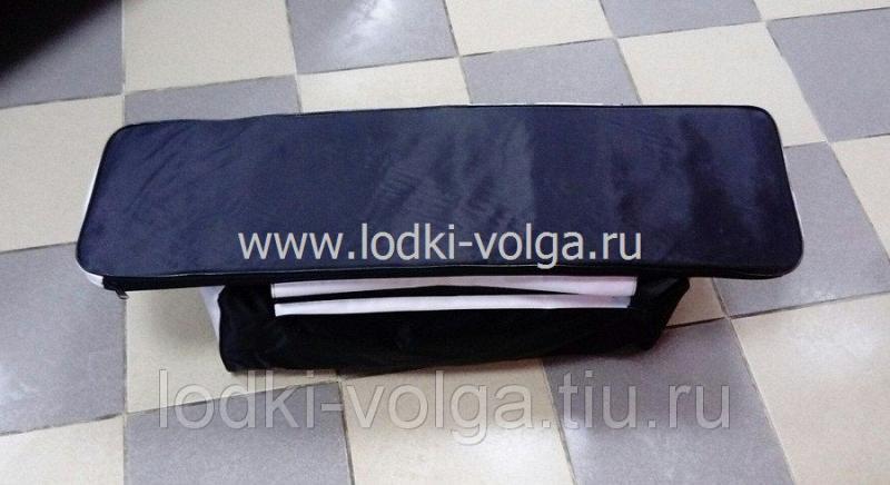 Комплект мягких накладок на сиденье 90  (уп.2 шт.) Мастер (900*250) чёрно/белые