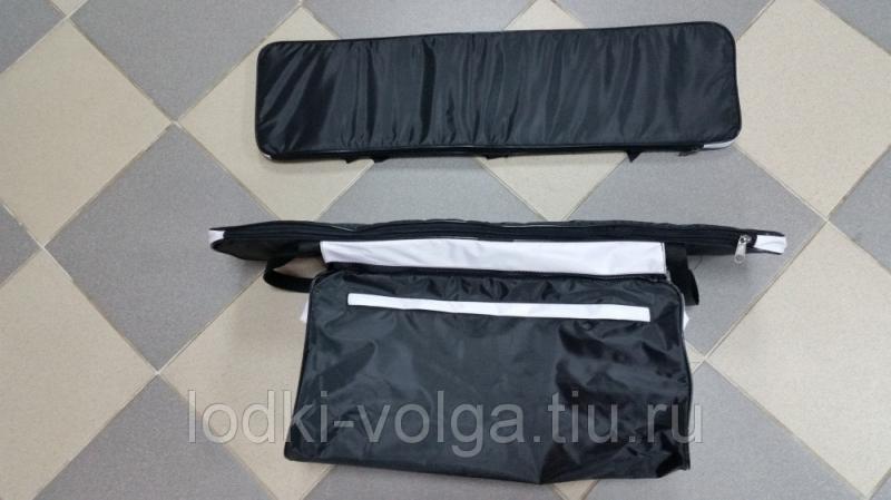 Комплект мягких накладок на сиденье 80 (уп.2 шт.) Мастер (800*200) чёрно/белые