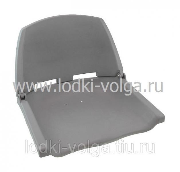 Кресло пластиковое серое C12503G