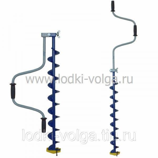 Ледобур ЛР-100 С (100мм) спортивный,  (уп. 5 шт.)