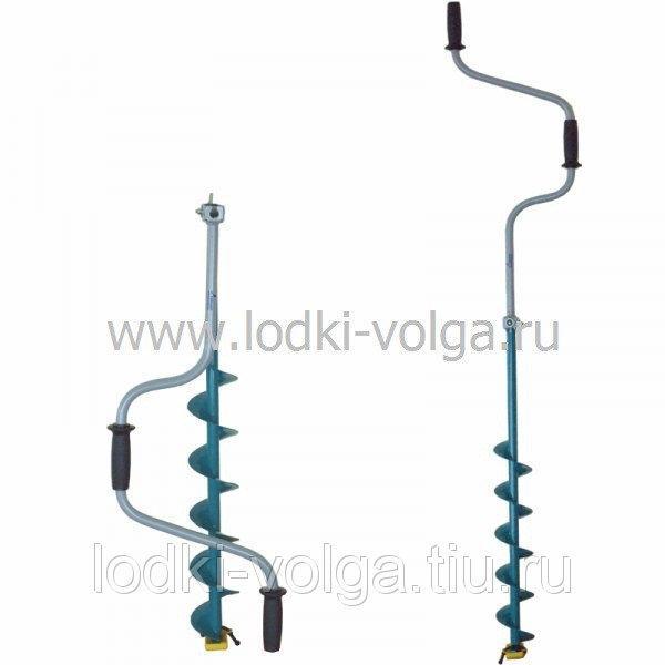 Ледобур ЛР-100Д (100мм) двуручный (уп. 5 шт.)