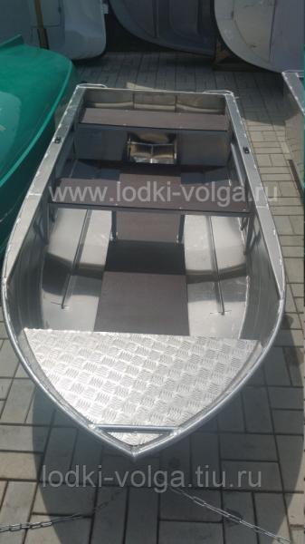 """Моторно-гребная алюминиевая лодка """"Бестер 280"""""""