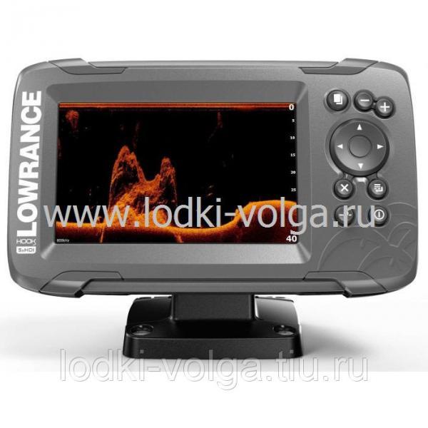 Эхолот LOWRANCE Hook2-5x GPS SPLITSHOT (000-14016-001)
