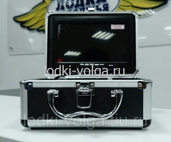 Видеокамера для рыбалки WF70-15R с функцией записи в алюминиевом боксе