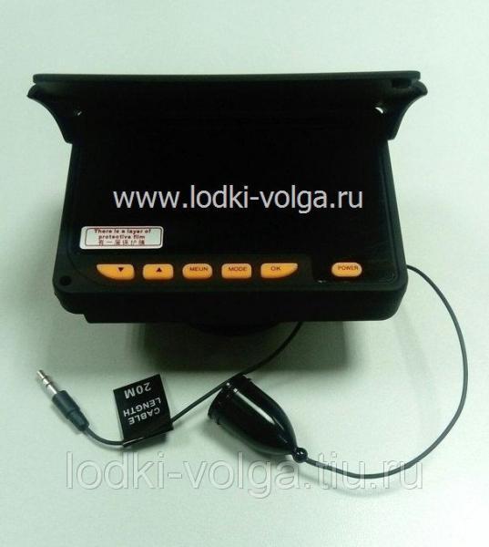 Видеокамера для рыбалки WF05L-20R с функцией записи в алюминиевом боксе