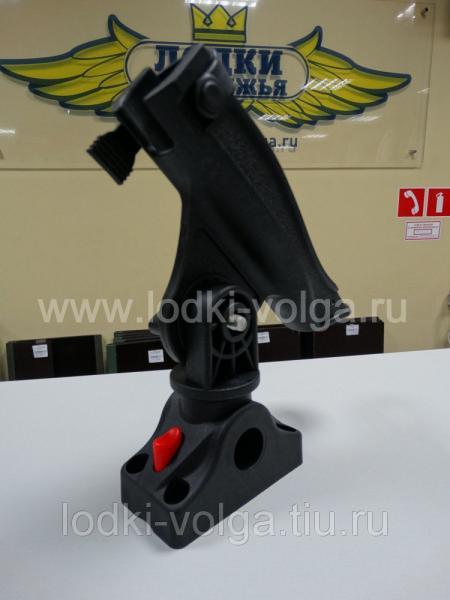 Подставка под удочку черная в комплекте с креплением CFMT303 (CFRH303)