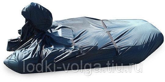 Тент на лодку Солар 380 (Транспортировочный) синий
