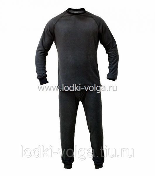 Термобельё Huntsman, тк.флис серый, размер 46-48