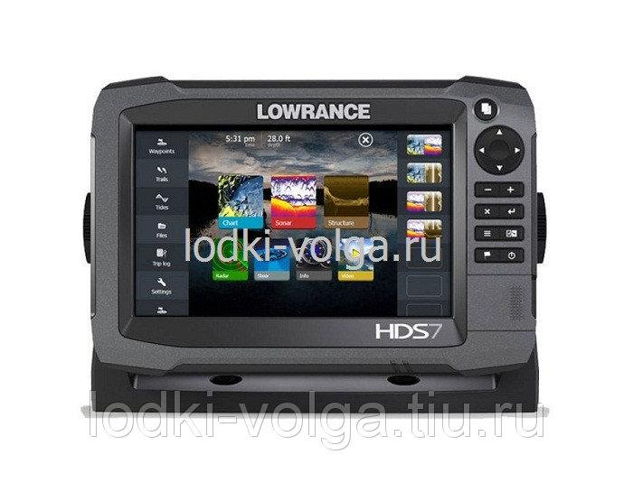 """Эхолот LOWRANCE HDS-7 Gen3 ROW with StructureScan Transducer (000-11799-002 - 7"""")"""