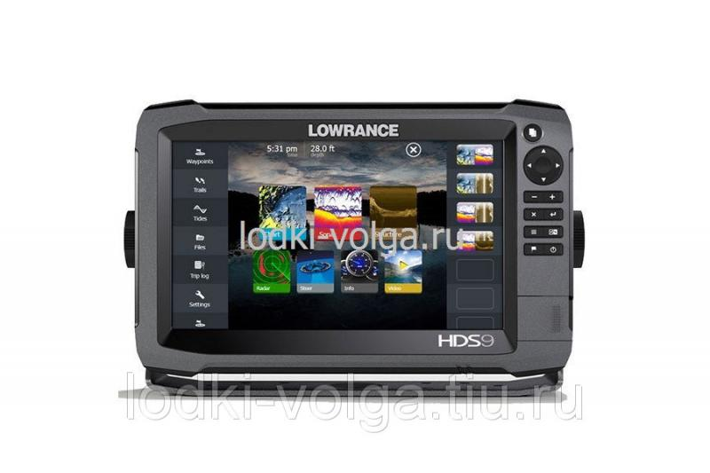 """Эхолот LOWRANCE HDS-9 Gen3 ROW with StructureScan Transducer (000-11800-002 - 9"""")"""