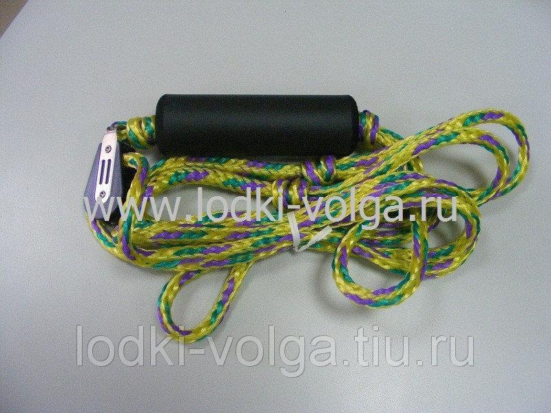 Фал буксировочный к транцу с поплавком и блочком для распределения нагрузки С13066