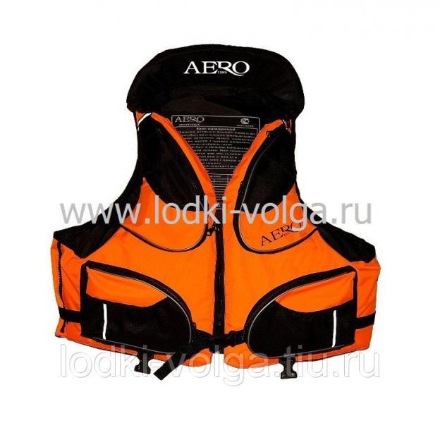 Жилет страховочный AERO, размер 54-56 L-XXL 60 кг, Оранжевый