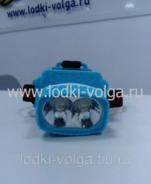 Фонарик 2 LED CC- 908