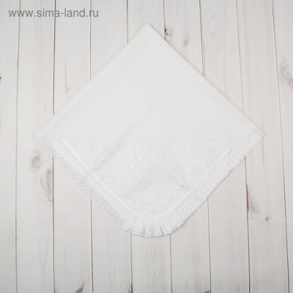 Уголок на выписку, размер 80*85 см, цвет белый 17-1Ш