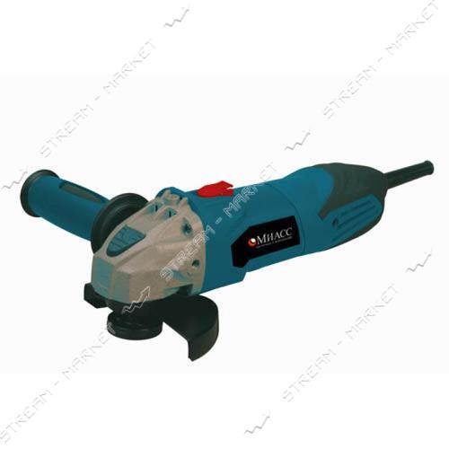 МИАСС Углошлифовальная машина УШМ 1050/125, 1050 Вт, 125 мм