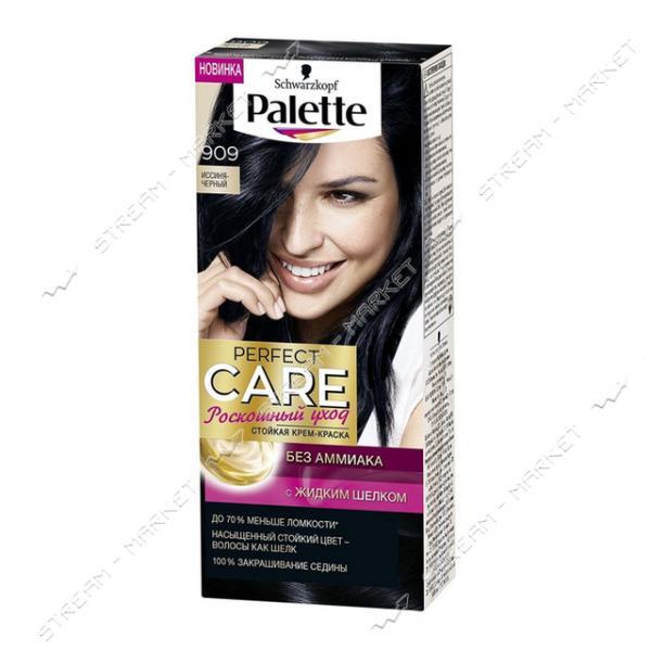 Palette Краска для волос Иссиня-черный 909