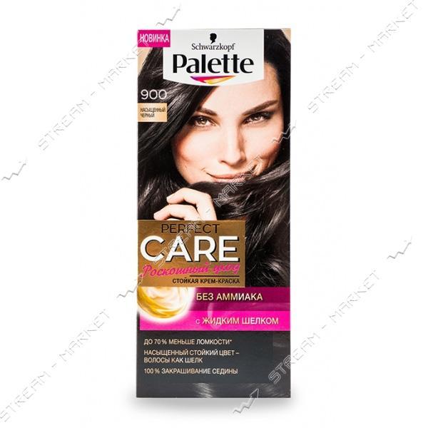 Palette Краска для волос Насыщенный черный 900