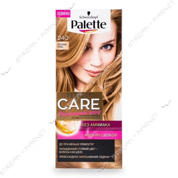 Palette Краска для волос Песочный блонд 240
