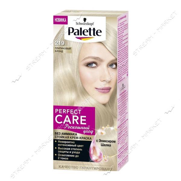 Palette Краска для волос Платиновый блонд 219