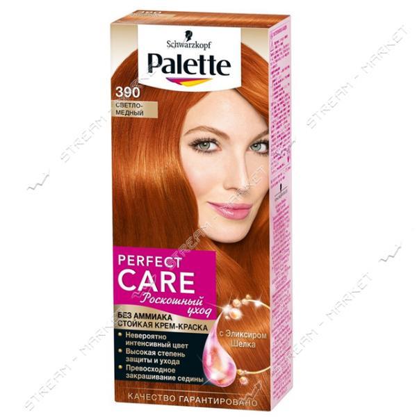 Palette Краска для волос Светло-медный 390