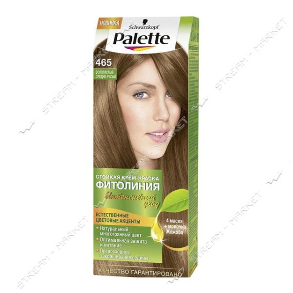 Palette Фитолиния Краска для волос Золотистый средне-русый 465