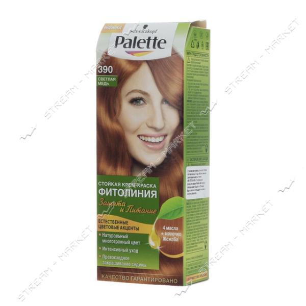 Palette Фитолиния Краска для волос Светлая медь 390