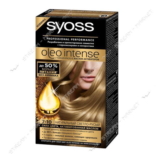Syoss Oleo Intense Краска для волос Натуральный светло-русый 7-10