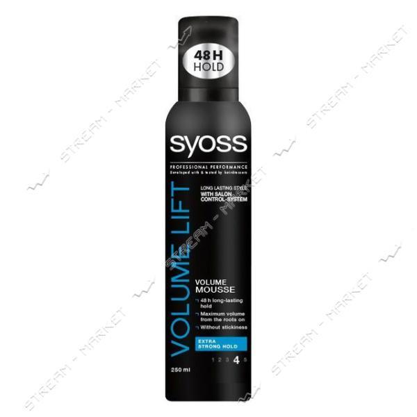 Syoss Мусс для волос Volume Lift 250мл