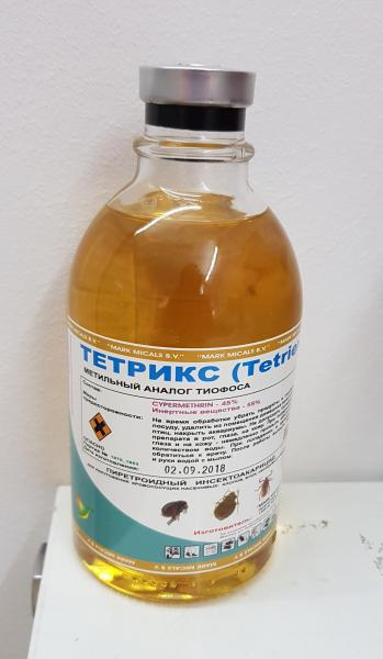 Фото Средства от насекомых 1. Тетрикс  500 мл - 1 шт.