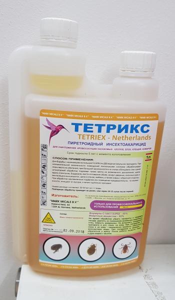 Фото Средства от насекомых 2. Тетрикс  1 л.