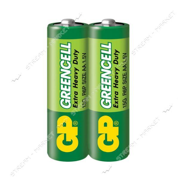Батарейка GP AA/R6 ('пальчик') (уп.2 шт. цена за уп.)