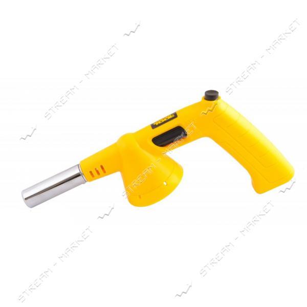 Горелка для газового баллона MASTERTOOL 44-5037 с ручкой Везувий 1400°C