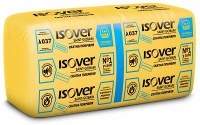 Мінеральна вата ISOVER Скатна покрівля/MUL 100 610*1170 (7,13 м.кв/пач.)