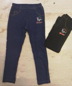Фото Джинсы, лосины, штаны РАСПРОДАЖА! -30% Джилеггинсы утепленные для девочки от 3 до 8 лет