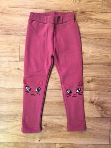 Фото Джинсы, лосины, штаны МАЛЬЧИКАМ и ДЕВОЧКАМ Леггинсы утепленные для девочки от 1 до 5 лет