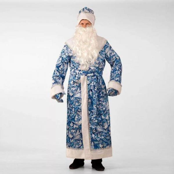 Карнавальный костюм Дед Мороз сказочный взрослый