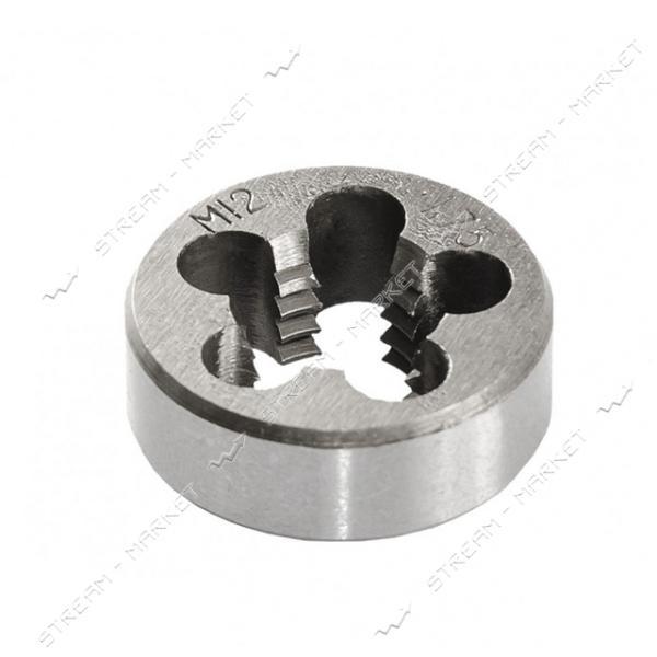 Плашка для нарезания резьбы MASTERTOOL 15-0126 М12*1.75мм