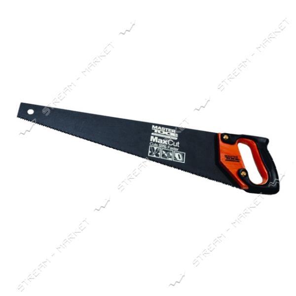 Ножовка столярная MASTERTOOL 14-2340 каленый зуб тефлоновое покрытие 400мм