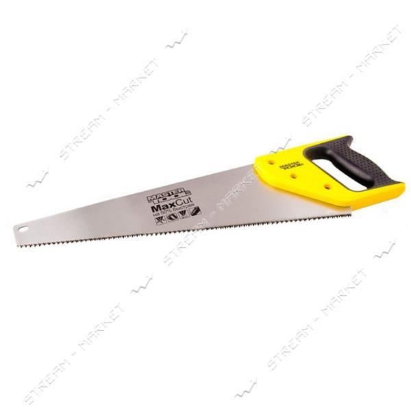 Ножовка столярная MASTERTOOL 14-2840 каленый зуб полированная 400мм