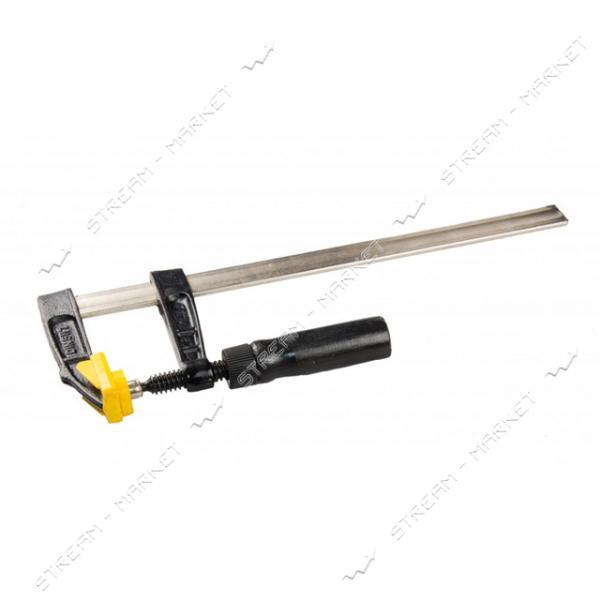Струбцина столярная MASTERTOOL 07-0004 тип F деревянная ручка 300*120мм 3200Н