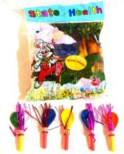Фото Шары воздушные Свистулька с шариком 1 шт., цвет в ассортименте