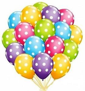 Фото Шары воздушные Воздушный шар пастель с рисунком
